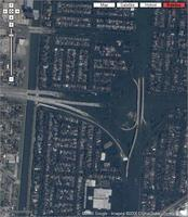 Google Maps of New Orleans after Katrina