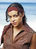 Michelle Rodriguez gets lost
