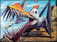 Giant flying reptiles