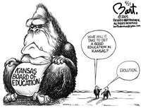 Kansas board of education devolves