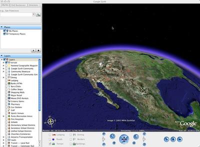 Google Earth now Mac friendly