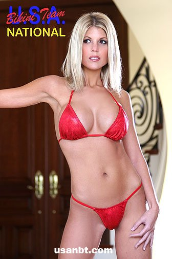Bikini erica national usa