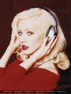 Christina Aguilera retro look Back to Basics