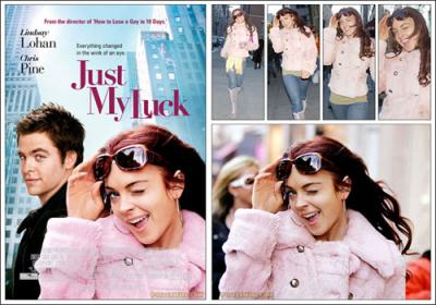 Lindsay Lohan Just My Luck movie poster
