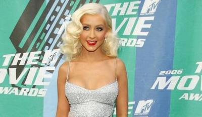 Christina Aguilera at the MTV Movie Awards