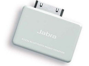 Jabra A125s Bluetooth adapter for iPod