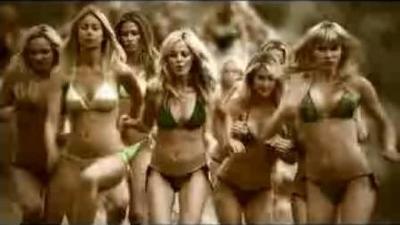 Lynx Billions of Babes in Bikinis ad