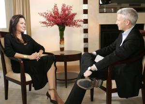 Angelina Jolie on CNN with Anderson Cooper