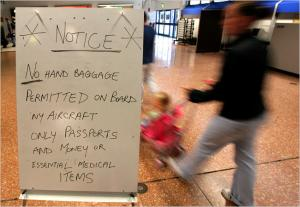 Belfast Airport security warning