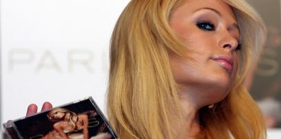 Paris Hilton CD promotion