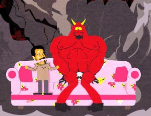 South Park Saddam and Satan