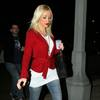 Christina Aguilera in red