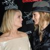 Jessica Simpson and Ashlee Simpson at Chicago after party