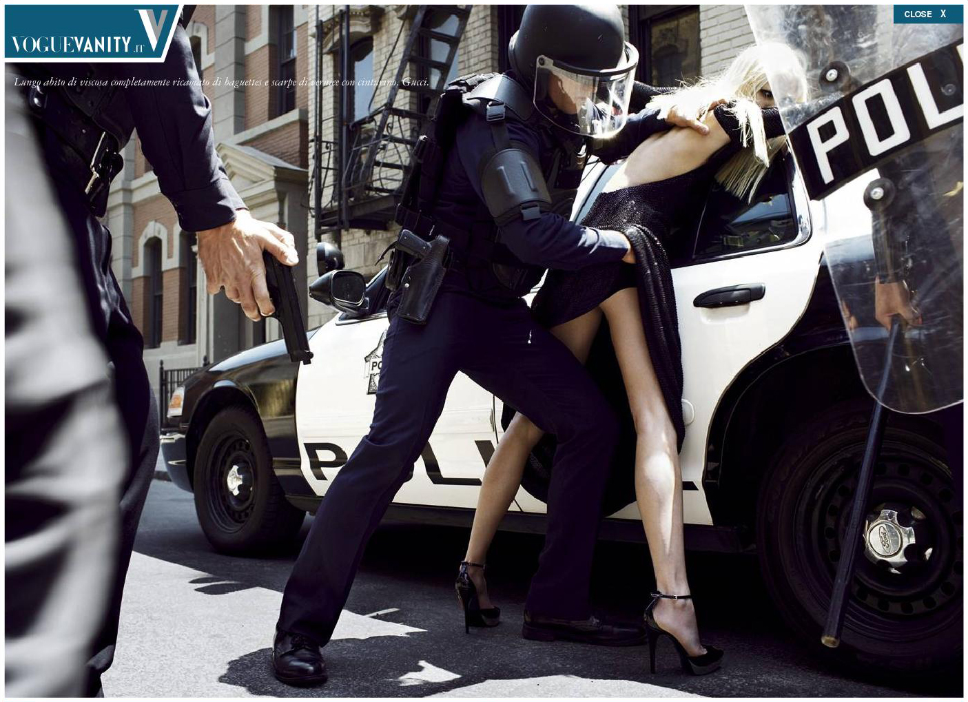 Vogue Italia State of Emergency by Steven Meisel
