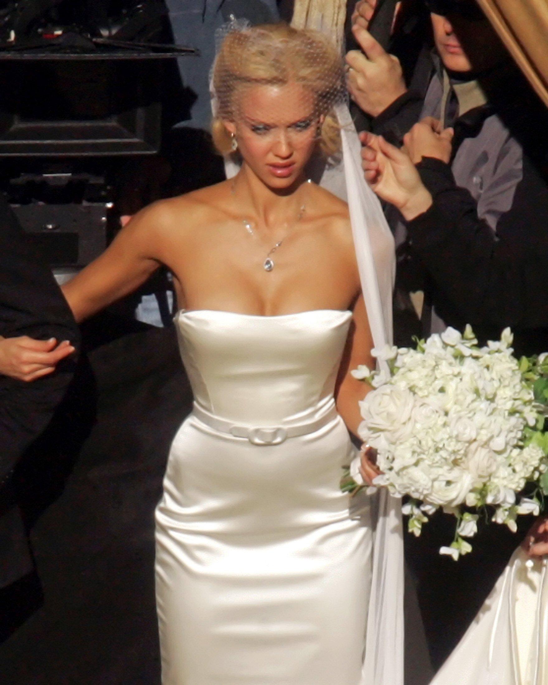 Jessica Alba Wedding: Jessica Alba Fantastic 4 Wedding