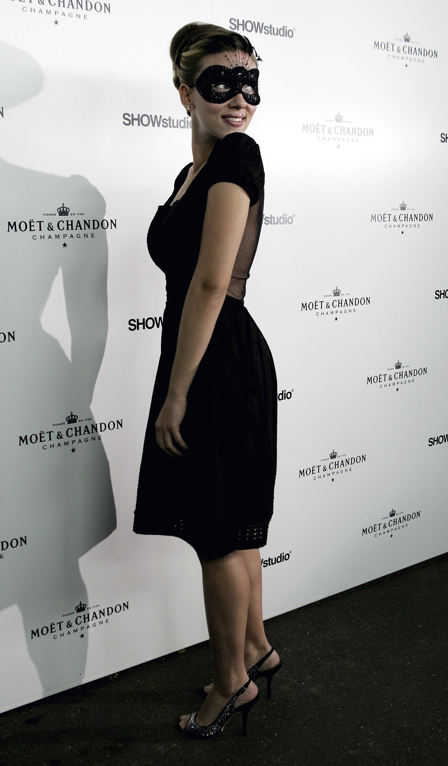 Scarlett Johansson at Moet and Chandon Fashion Tribute