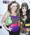 Hilary and Hailey Duff Halloween costume