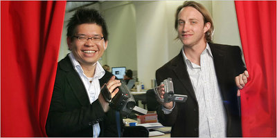 YouTube founders Steven Chen and Chad Hurley
