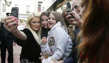 Paris Hilton in dublin