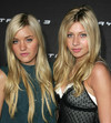 Alyson and Amanda Michalka Playstation 3 launch party