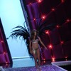 Adriana Lima exposed her bra and panties for Victorias Secret