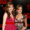 Amber Tamblyn exposed her plunging cleavage