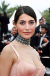 Caterina Murino exposed her cleavage in Cannes