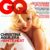 Christina Aguilera exposed without a top