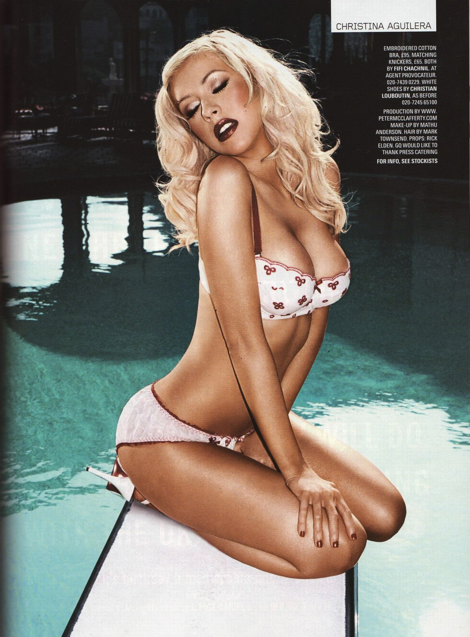 Christina Aguilera in UK GQ