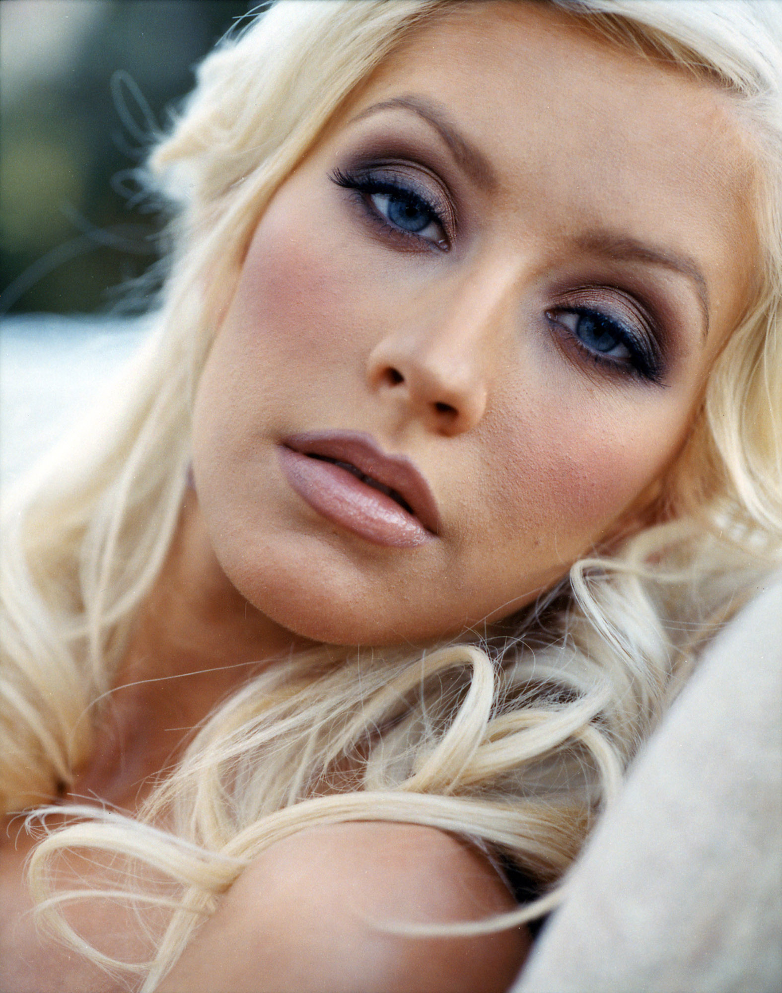 Christina Aguilera in Cliff Watts Photoshoot