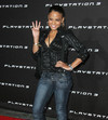 Christina Milian exposed her cleavage