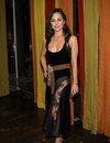 Eliza Dushku exposed a see through dress