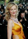 Eva Herzigova exposed her cleavage in Cannes