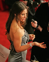 Evangeline Lilly exposed her side boob and cleavage