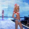 Hana Soukupova exposed her bra and panties for Victorias Secret