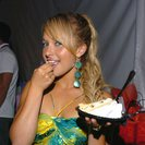 Hayden Panettiere exposed her panty tease and finger licking