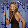 Holly Valance exposed her cleavage and panties in a photoshoot