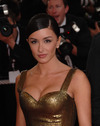 Jenifer exposed her cleavage in Cannes