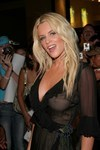 Jenny McCarthy exposed her boobs in a see through dress