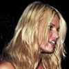 Jessica Simpson exposed her cleavage