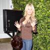 Jessica Simpson exposed her leopard bra again and again