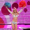 Jessica Stam exposed her bra and panties for Victorias Secret
