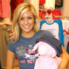 Kristin Cavallari exposed her cleavage while shopping