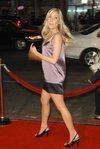 Kristin Cavallari exposed her long legs in a short dress