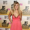 Lauren Conrad exposed her natural plunging cleavage