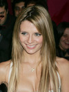 Mischa Barton exposed her cleavage
