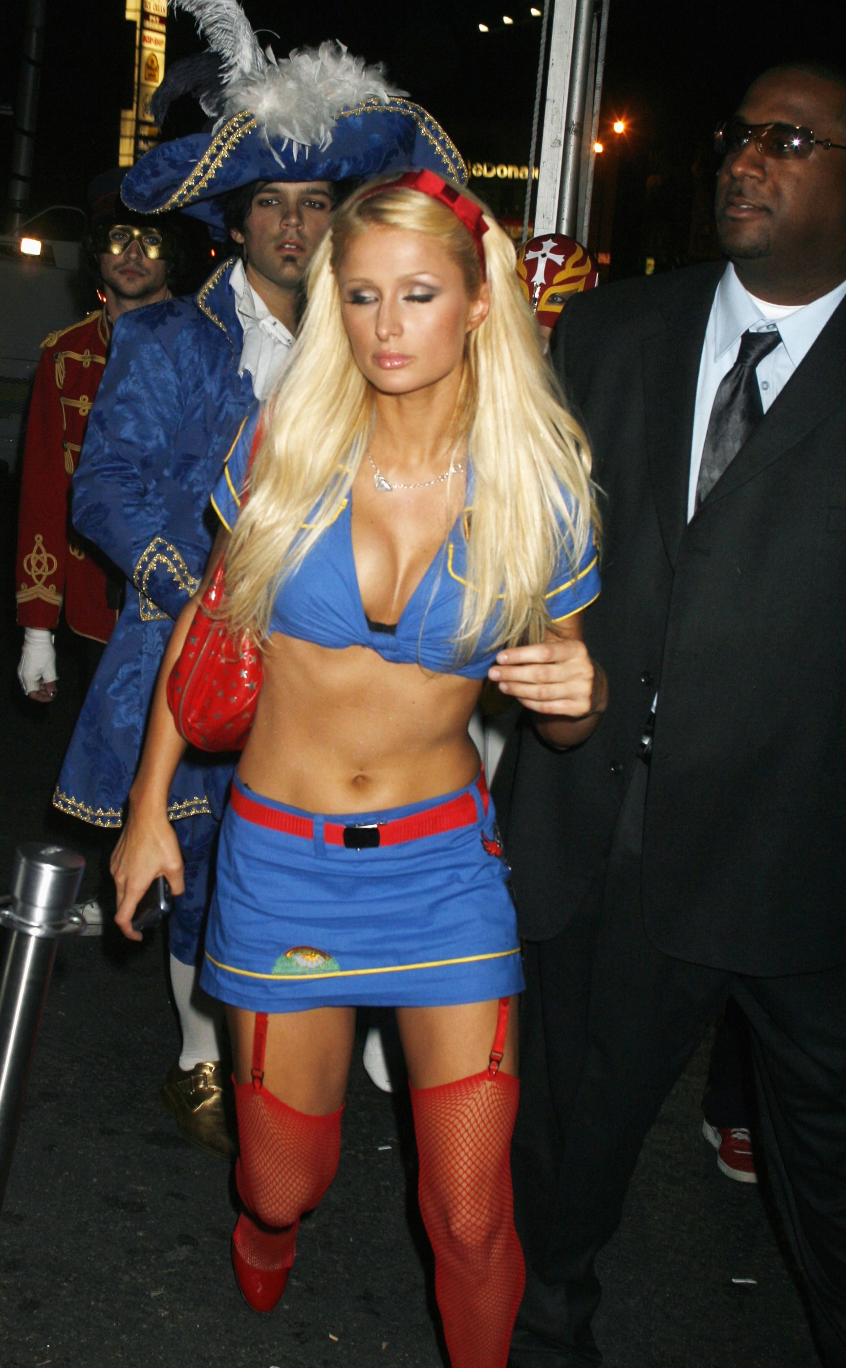 Paris Hilton Halloween costume