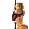 Stacy Keibler exposed her bras and panties