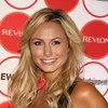 Stacy Keibler exposed her cleavage in a sexy dress