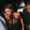 Victoria Beckham exposed her cleavage and pokies while drunk